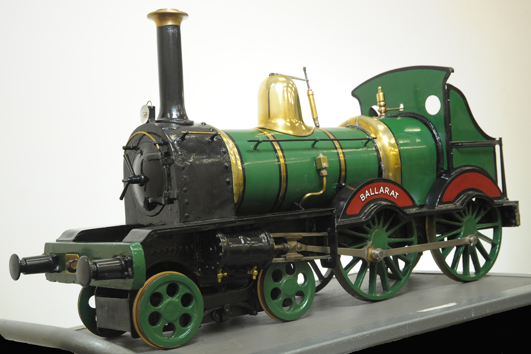 Model Locomotive EngineImage: Gold Museum Collection