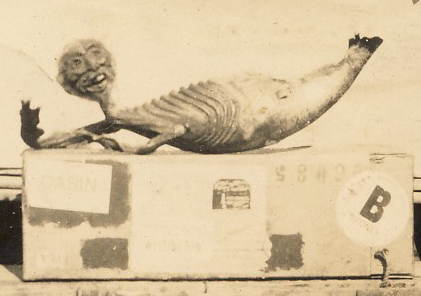 """Fake """"Mermaid"""" (1923) - detailImage: Gold Museum Collection (2011.0072)"""